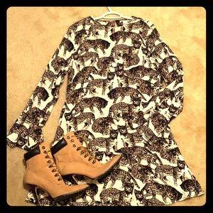 NWT H&M Leopard Dress